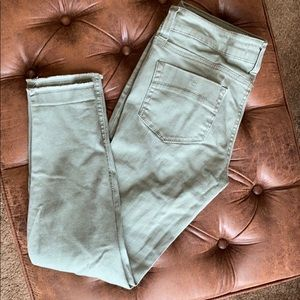 RSQ Olive ankle cut jeans Size 7